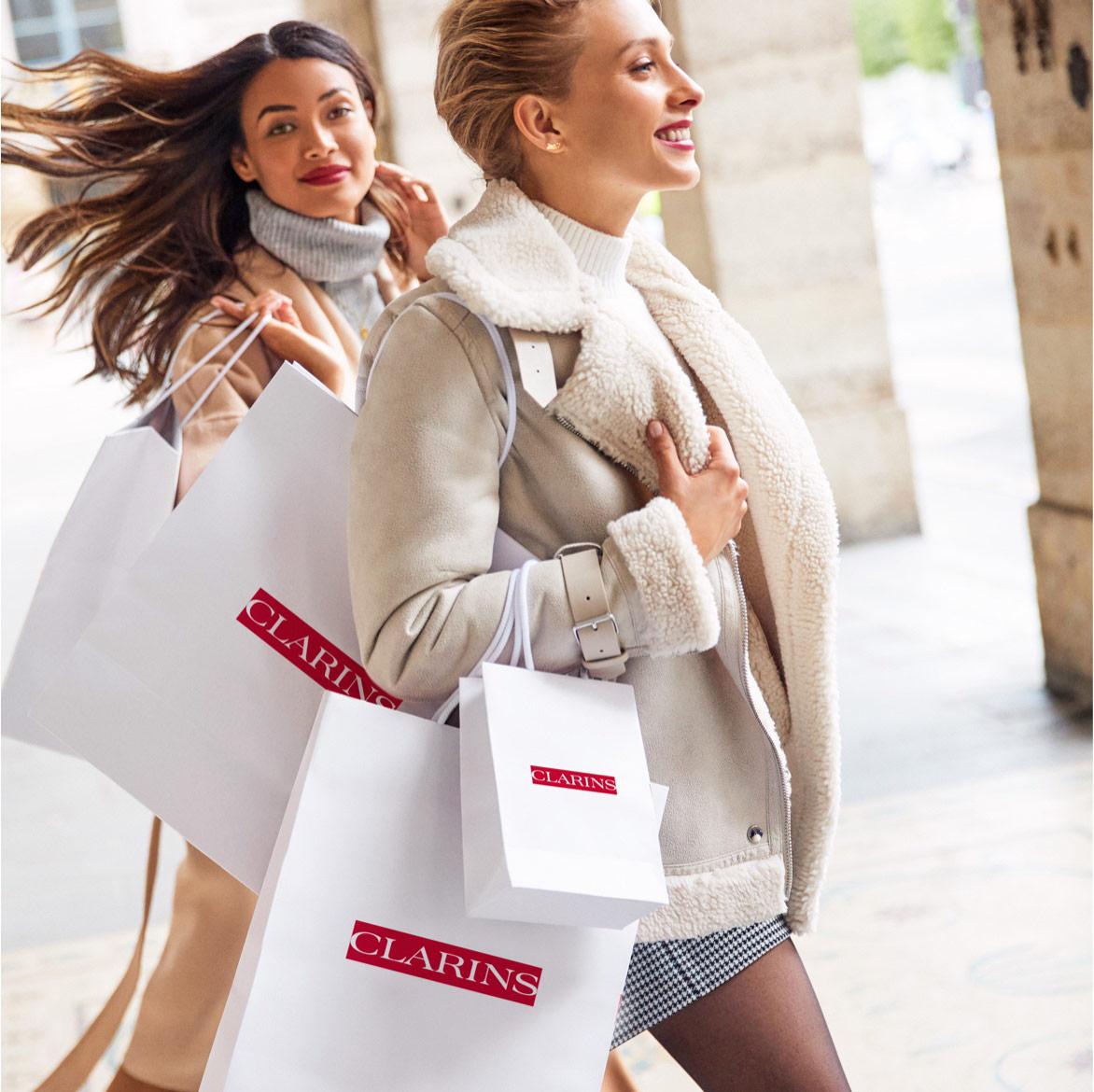 Clarins.com e-gavekort