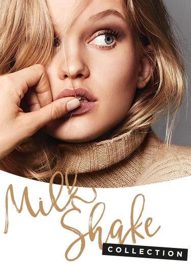 Model og Milk Shake-serie logo